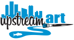 UpStream Art Logo
