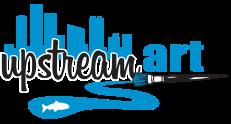 UpStream Art Logo