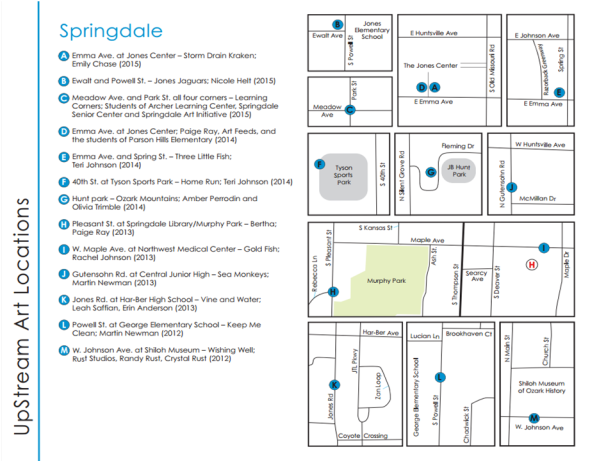 Springdale Map