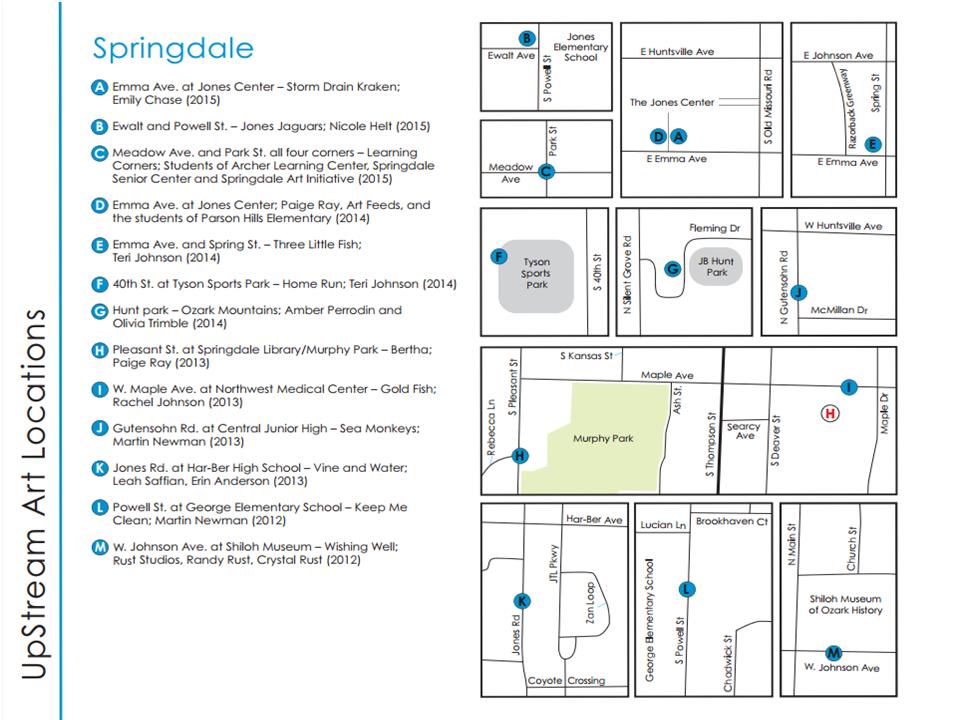 Springdale Map
